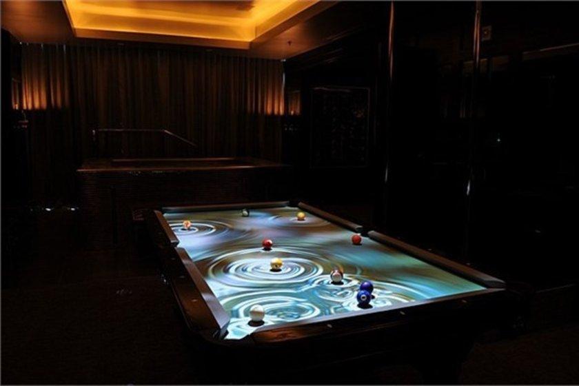İnteraktif havuz masası\n<br>25 bin dolar. \n