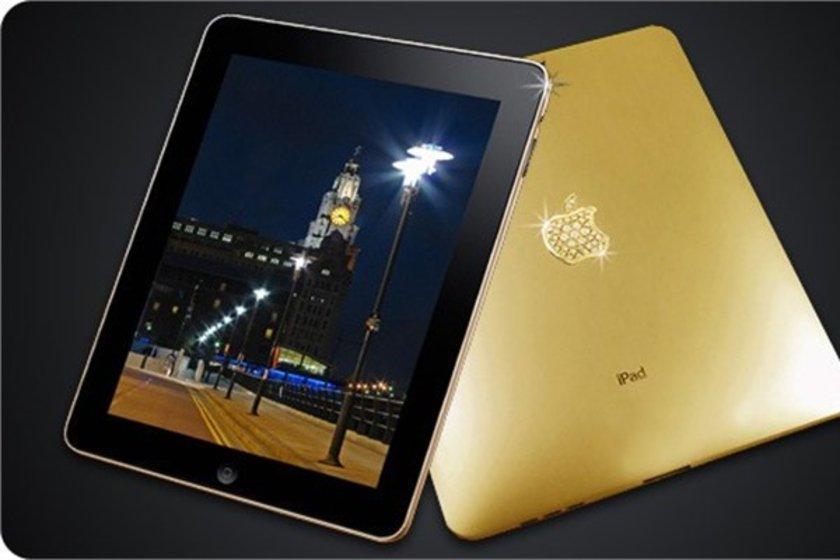 iPad 2 altın serisi\n<br>7,8 milyon dolara yakın.