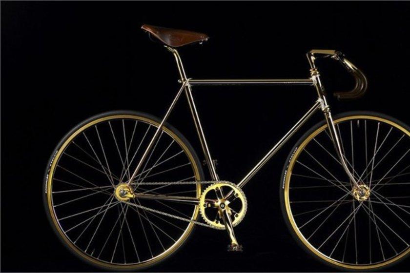 Aurumania altın bisiklet\n<br>104 bin 744 dolar.