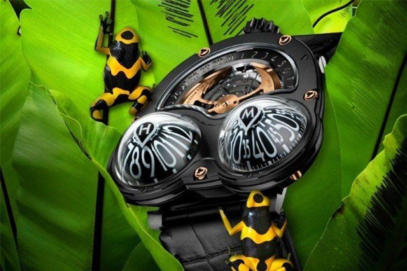 Kurbağa tasarımlı saat\n<br>103 bin 264 dolar.
