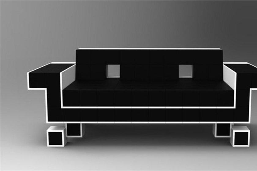 Retro uzay koltuğu\n<br>Eski yılları uzay teknolojisiyle birleştiren bu koltuk 5 bin dolar.