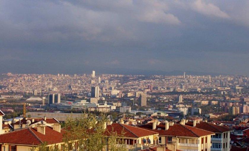 Şehir Ankara\nBölge Oran<br>\n\n2010 (m2 fiyatı) 2000-6000<br>\n2013 (m2 fiyatı) 3000-7500<br>\n2015 (m2 fiyatı) 4000-9000<br>\n2013-15 Değişim (%) 24<br>\n