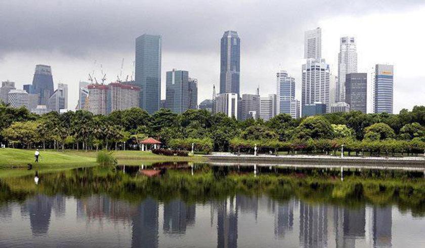 41 Singapur yüzde -0.1