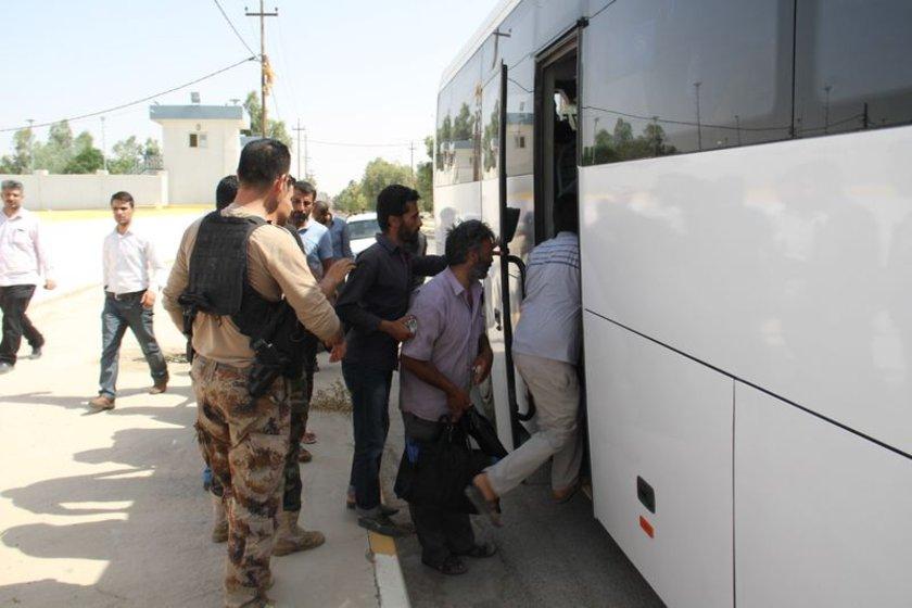 32 şoför Musul'da IŞİD tarafından 10 Haziran'da kaçırılmıştı.