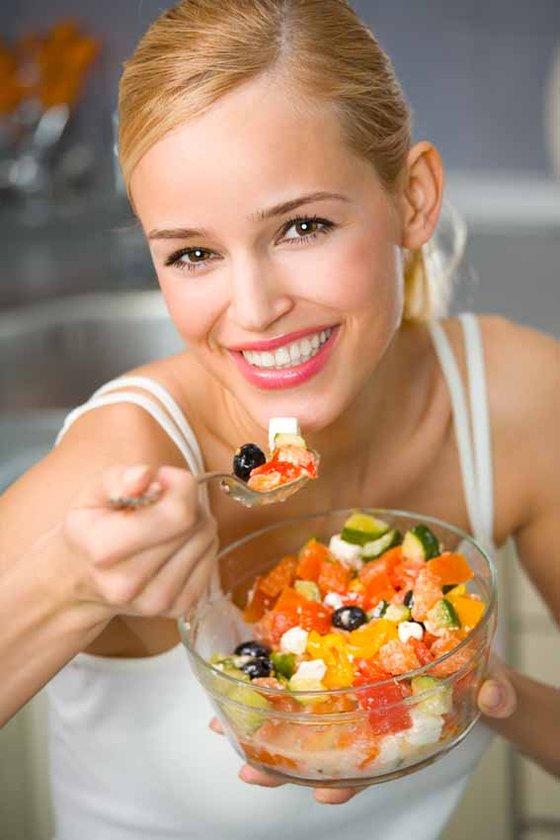 Vücut eksiksiz beslendiğinde hızlı çalışır, doğal formda olan her besini tüketmeye gayret edin