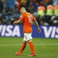 Sneijder yıkıldı