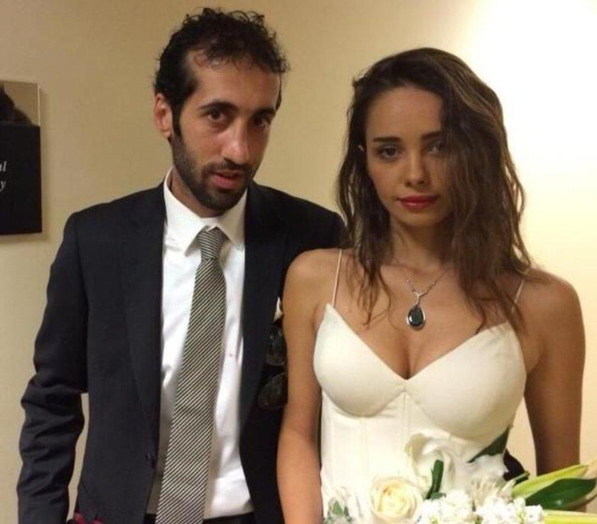 Sönmez'in eşi Çolak, kendisinden dövmeyi sildirmesini isteyince ikili arasında çıkan tartışma evliliğin sonlanmasına sebep oldu.