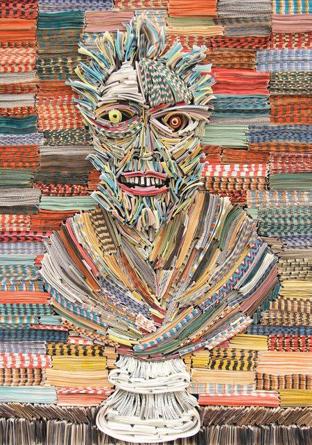 Kitaptan portreler ve heykeller