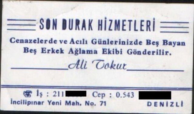 Kartvizit mi istediniz?