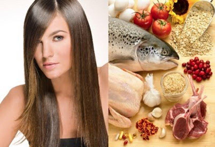 Saçlarımızı tamamlayan en önemli etkenlerden biri de beslenme. Saç sağlığımız, gerekli olan vitamin, mineral ve diğer besin öğelerinden zengin bir beslenme şekline bağlıdır.