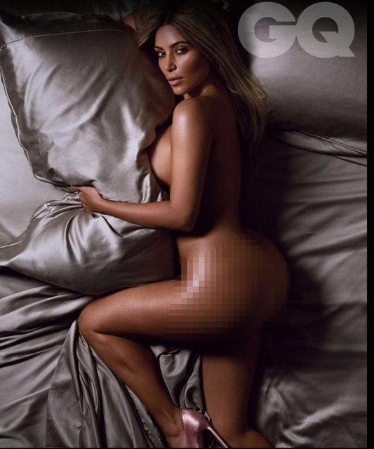 Kim Kardashian çırılçıplak!