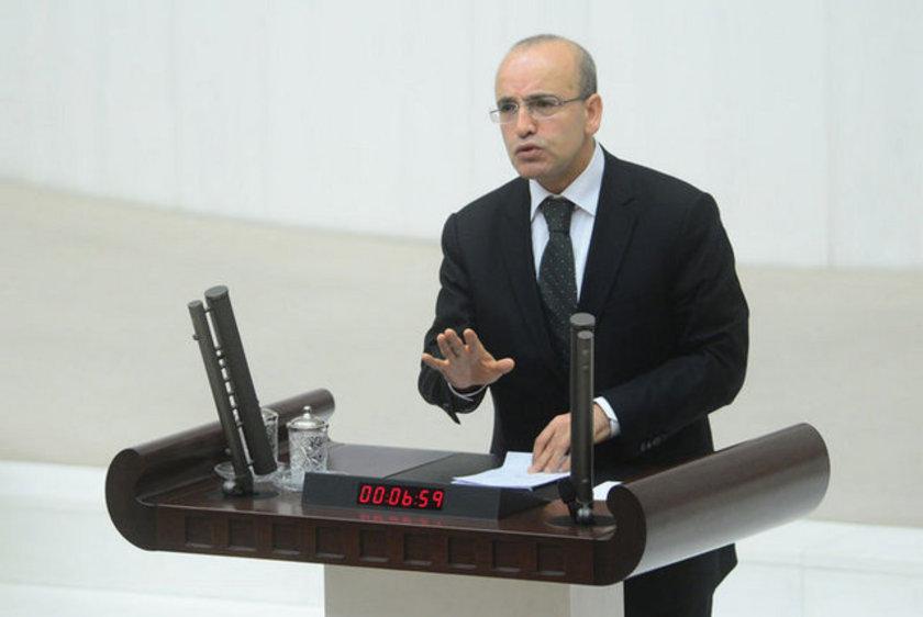 Maliye Bakanı: Mehmet Şimşek