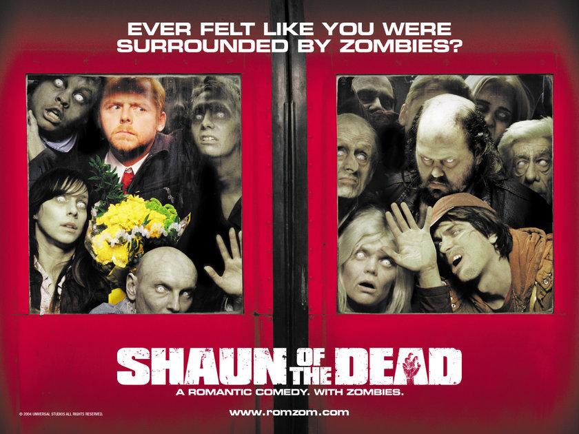 1- Zombilerin Şafağı (Shaun of the Dead) (2004): Bilgisayar oyunu estetiği kullanan bir görsel yapı, İngiliz mizahına yatkın bir ikili ve İngiliz banliyösünün mekanikleşmesine odaklanan alaycı bir dramatik zemin.Edgar Wright, Simon Pegg ve Nick Frost'un