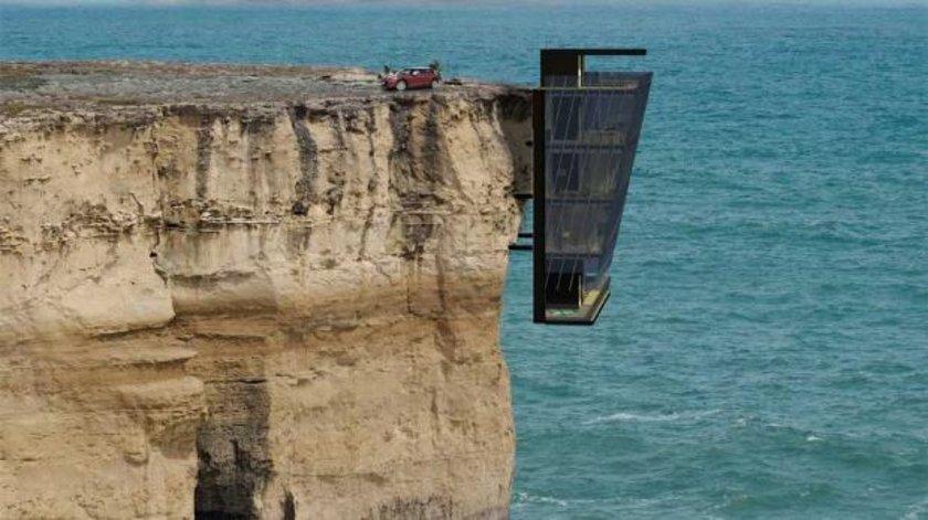 Avustralya'da bir mimarlık ofisi dünyanın en korkunç ve bir o kadar da güzel manzaralı evine imza attı.