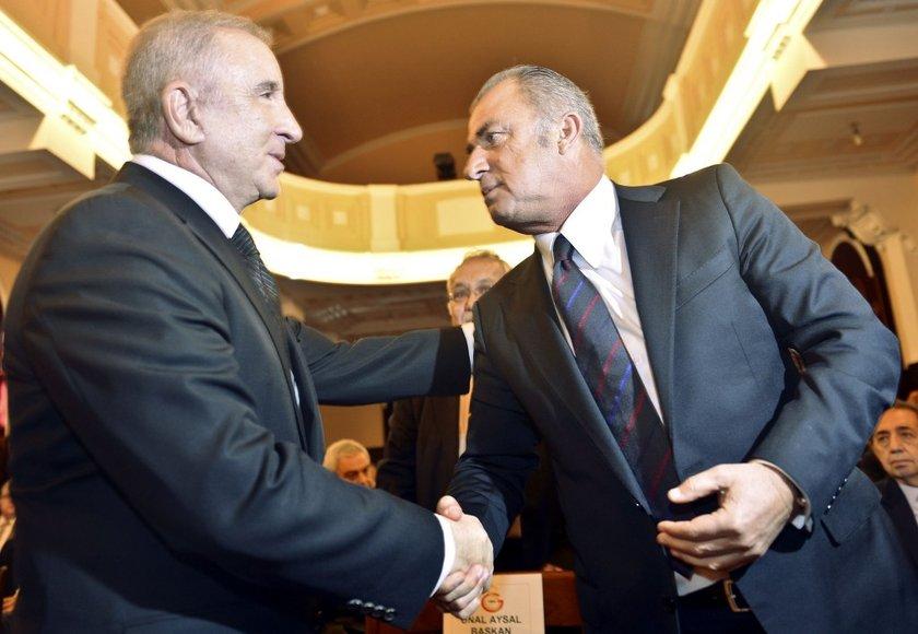 Ünal Aysal, ilk iş olarak sarı kırmızılılara 4 lig, 2 Türkiye Kupası ve UEFA Kupası'nı kazandıran teknik direktör Fatih Terim'i futbol takımının başına geçirdi.