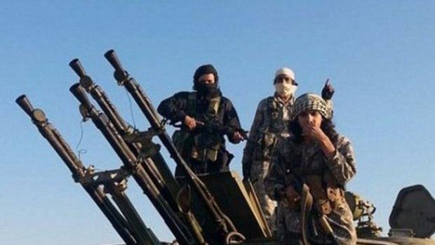 İşte IŞİD'in elindeki silahlar!