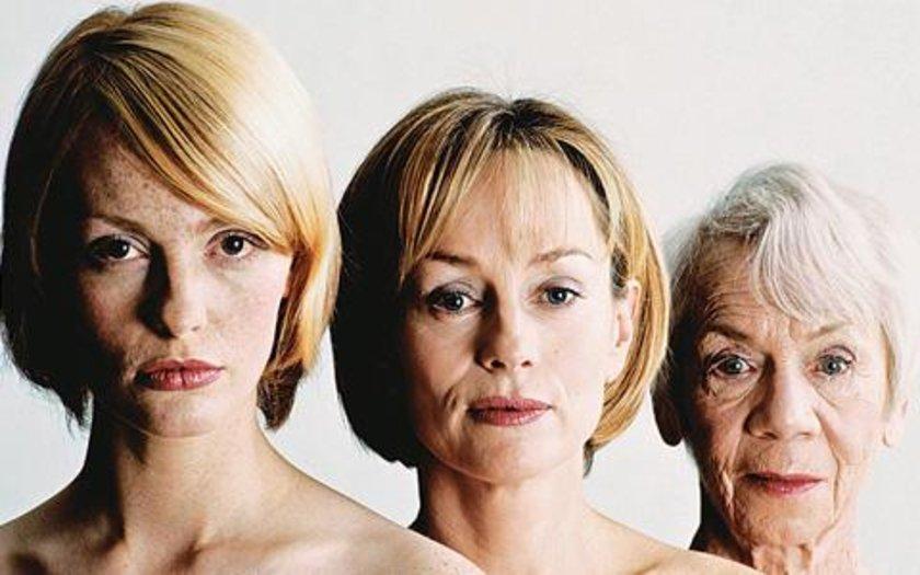 19-Yaşlanma: 50'li ve 60'lı yaşlara giren kadınlarda saç dökülmesi ve incelmesi sık görülmekle beraber nedeni henüz bilinmemektedir.