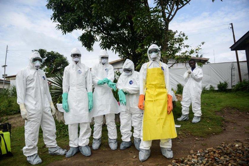 8-İstatistikler: Günümüzdeki Ebola salgını, hastalığın tarihteki en büyük salgını olarak biliniyor.