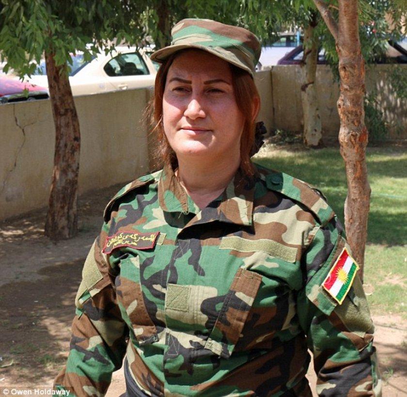 """""""Güneş'in Kızları"""" taburunda görev yapan savaşçıların çoğunun yakınlarının IŞİD tarafından öldürüldüğü belirtildi."""