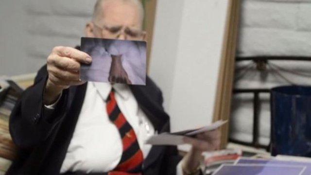 Ölmeden önce 'uzaylıların' fotoğraflarını yayınladı
