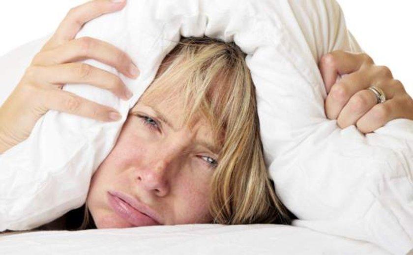 Uyku haliyle başa çıkmanın yolu yok gibi.