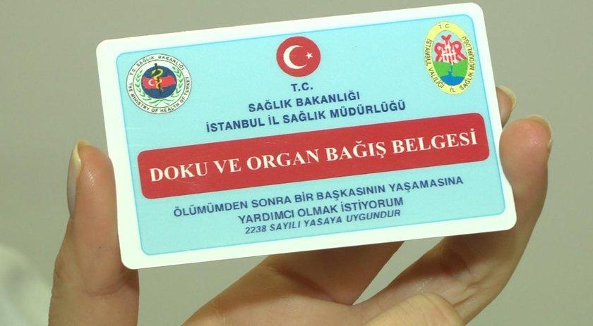 Bu nedenle eskiden alınmış organ bağışı kartlarının da yenilenmesi gerekiyor.