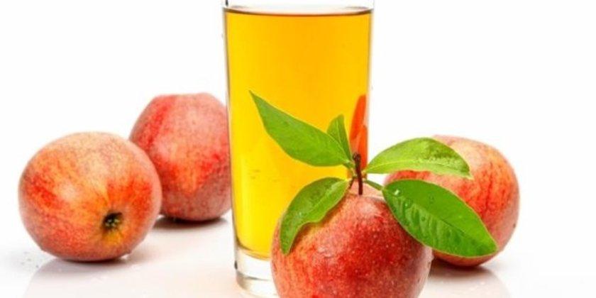 Aslında, elma suyu, elmadaki konsantre früktozdan elde edilen elma esansı ve %100 tatlandırıcıdan oluşabilir, buna da %100 elma suyu denebilir.