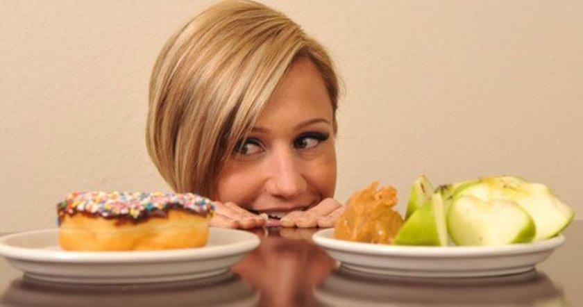 Bazı insanlar bu aşamada asla abur cubur yememeye yemin edebilir ve bunu uygulayabilir. Ancak