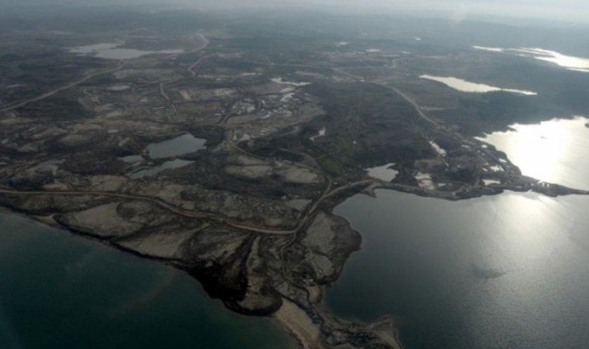 <p>İşte yeni havalimanı inşaatının havadan görüntüleri</p>