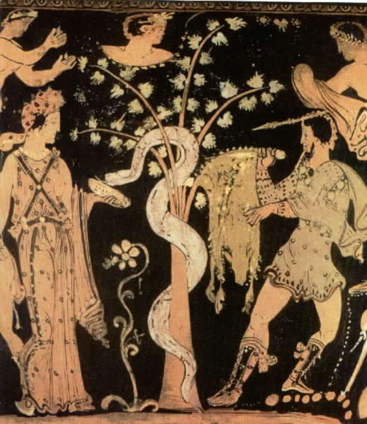 Golden shower in mythology — pic 6