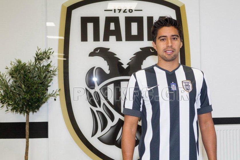 Christian Noboa <br> \nDinamo Moskova'dan PAOK'a