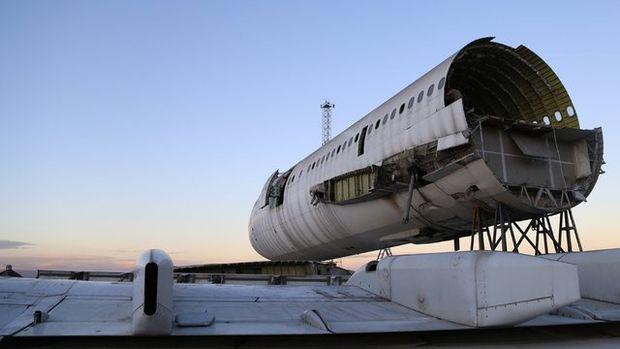 Bakın bu uçağa ne yapacak?