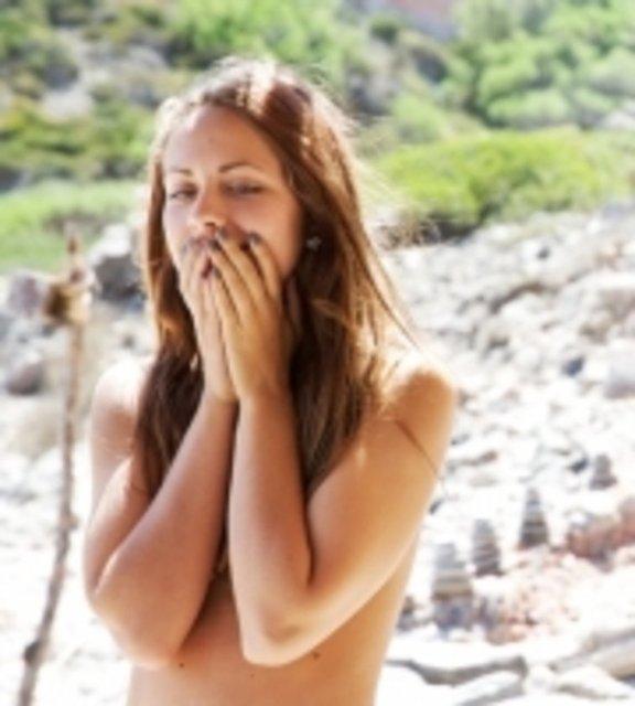 paradise hotel  deltakere line verndal naken