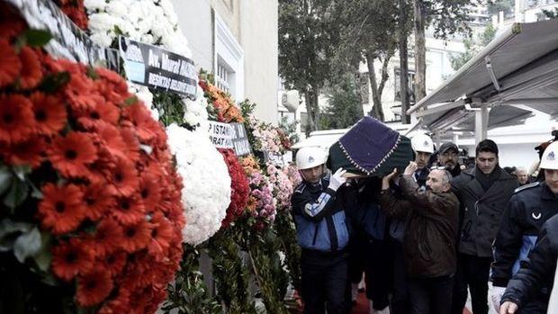 Müzeyyen Senar'ın cenazesinden kareler