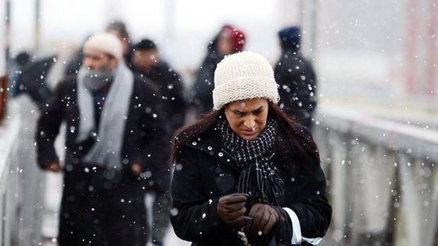 Türkiye'den karpostal gibi kar manzaraları!