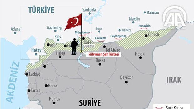 Süleyman Şah Türbesi'nin ve Caber Kalesi'nin tarihi!