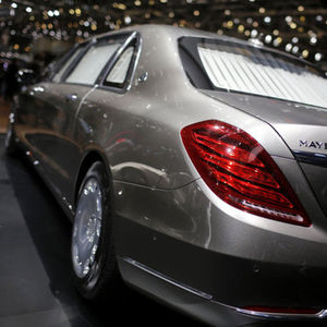 MERCEDES S600 MAYBACH PULLMAN!