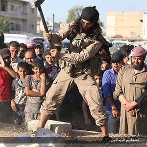 IŞİD'DEN TARİH KATLİAMI!