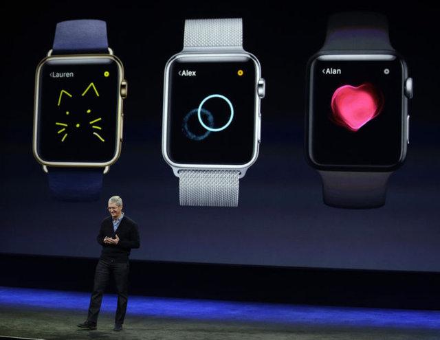 Geçtiğimiz yıl eylül ayında iPhone 6 modelleriyle beraber ön gösterimi yapılan Apple Watch, 6 aylık bir geliştirme sürecinin ardından San Francisco'da gerçekleştirilen tanıtımla tüketicilerin beğenisine sunuldu.