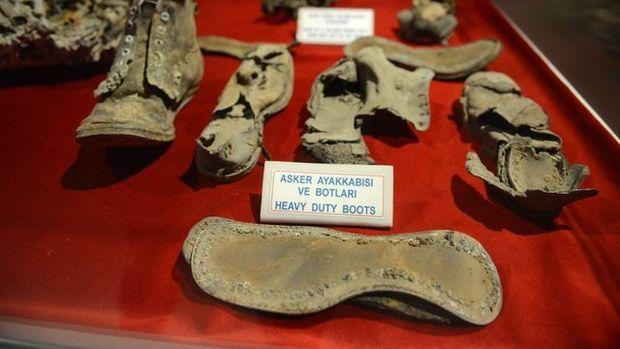 İşte Çanakkale Savaşları'nda kullanılan malzemeler!