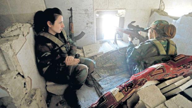 """Esad'ın """"dişi ölüm makinaları""""!"""