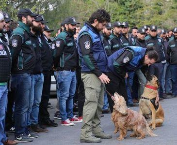400 POLİSLİ OPERASYONDAN GÖRÜNTÜLER
