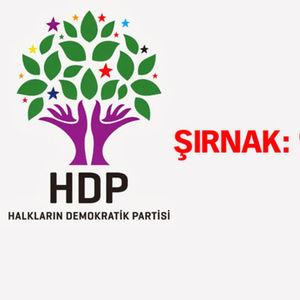 HDP'NİN EN YÜKSEK OY ORANINA ULAŞTIĞI ŞEHİRLER!