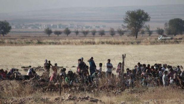 Türkiye sınırında hareketlilik