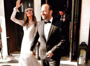 Çağıl Özge Özkul evlendi