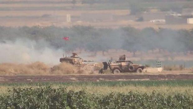 IŞİD'le çatışmanın çıktığı Kilis sınırından kareler