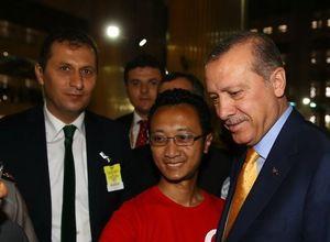 Cumhurbaşkanı Erdoğan Endonezya'da