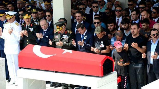 Şehit Nurettin Öztürk'ün cenazesi kaldırıldı