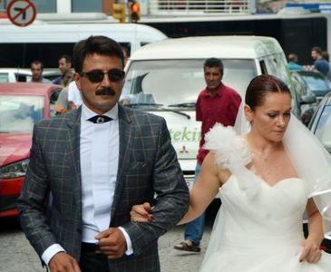 """GELİNLİ DAMATLI """"TELİF"""" PROTESTOSU"""