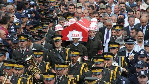Astsubay Kenan Ceylan'ın cenazesinden kareler...